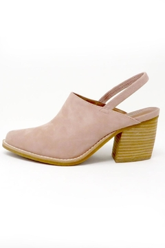 Jeffrey Campbell Blush Suede Slingback - Product List Image