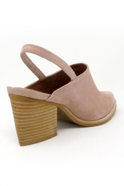 Jeffrey Campbell Blush Suede Slingback - Front full body