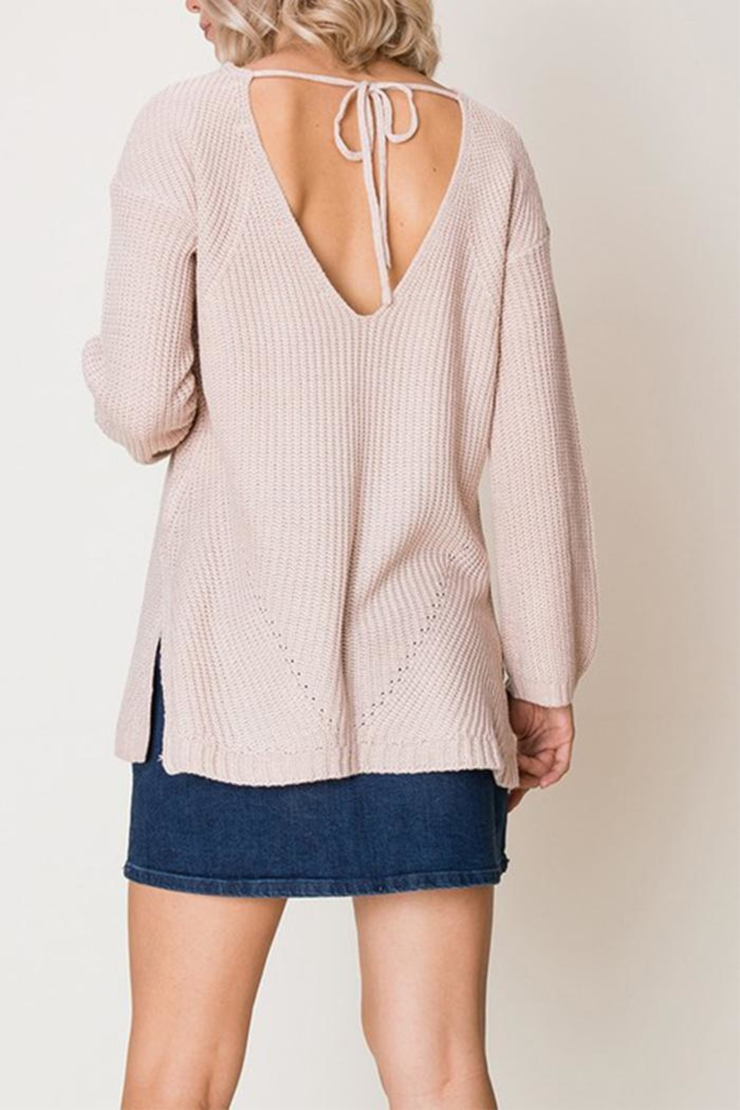 HYFVE Blush Sweater - Side Cropped Image