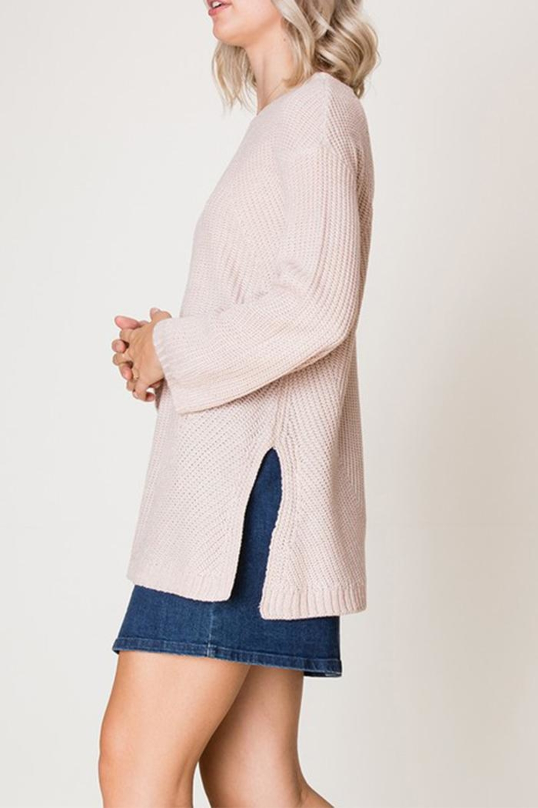 HYFVE Blush Sweater - Front Full Image