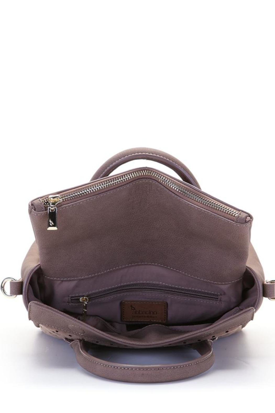 abbacino Blush/taupe Handbag - Back Cropped Image