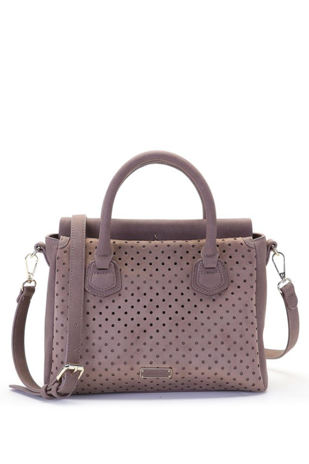 abbacino Blush/taupe Handbag - Side Cropped Image