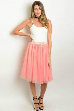 Humanity Blush Tulle Skirt - Alternate List Image