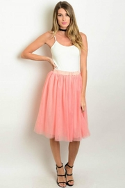 Humanity Blush Tulle Skirt - Product Mini Image