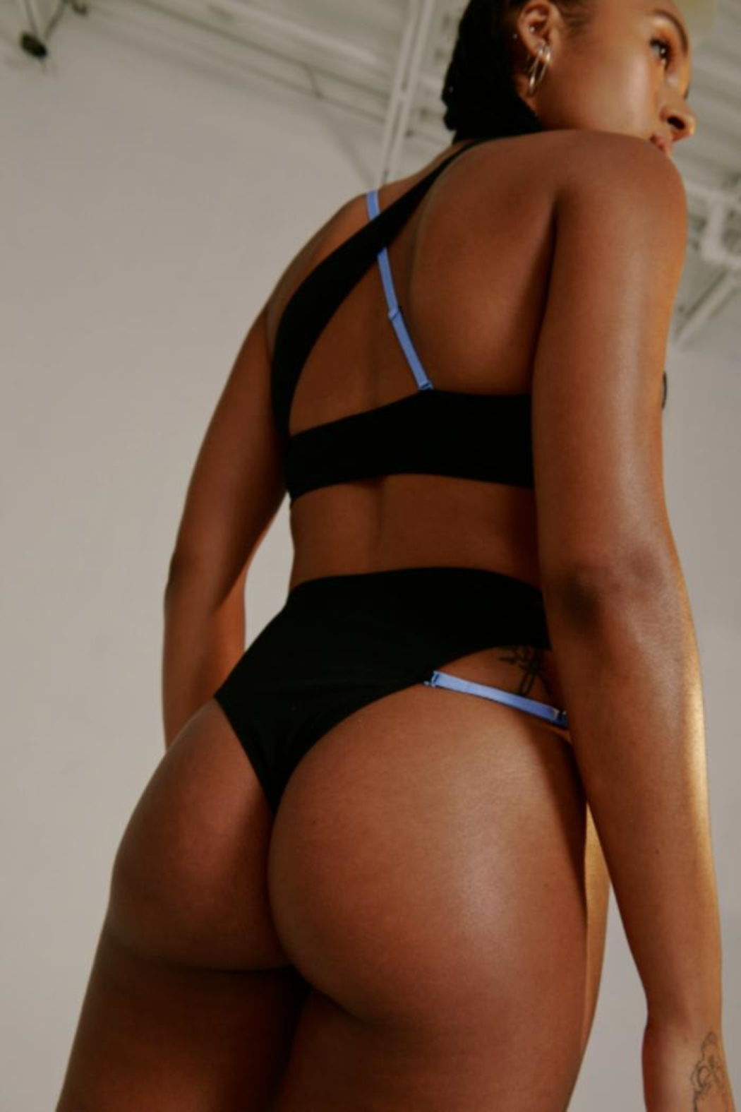 blush lingerie Glitch High-Waist Panty - Front Full Image
