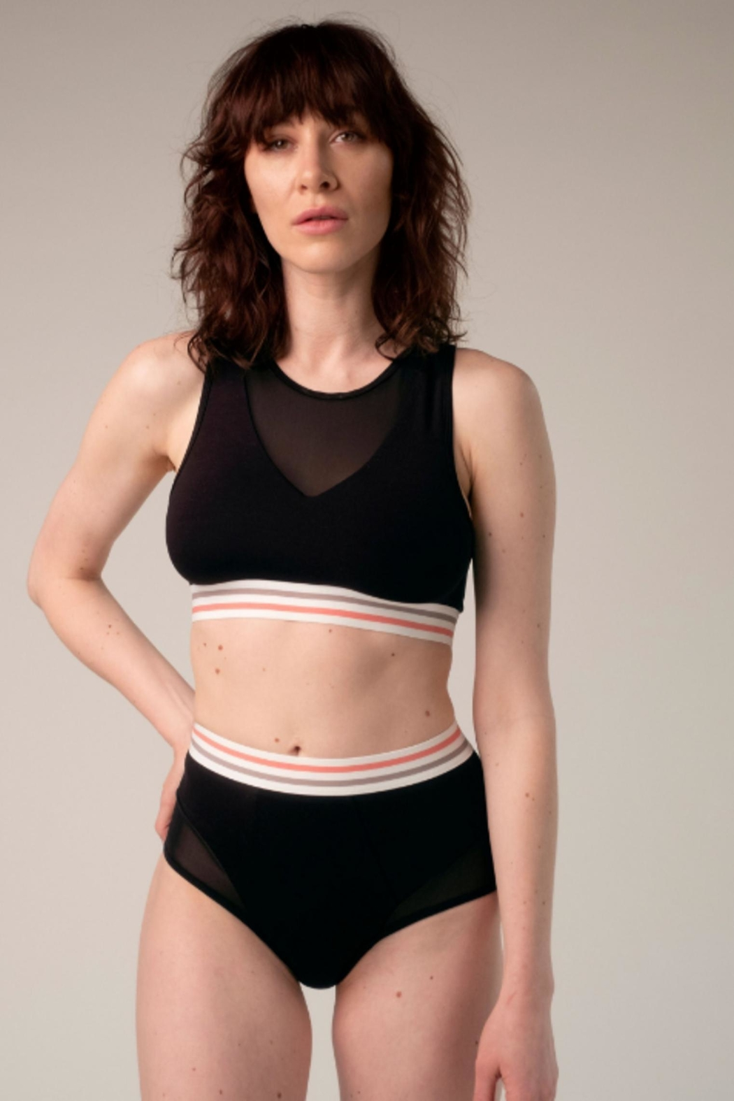 blush lingerie Studio High-Waist Panty - Side Cropped Image