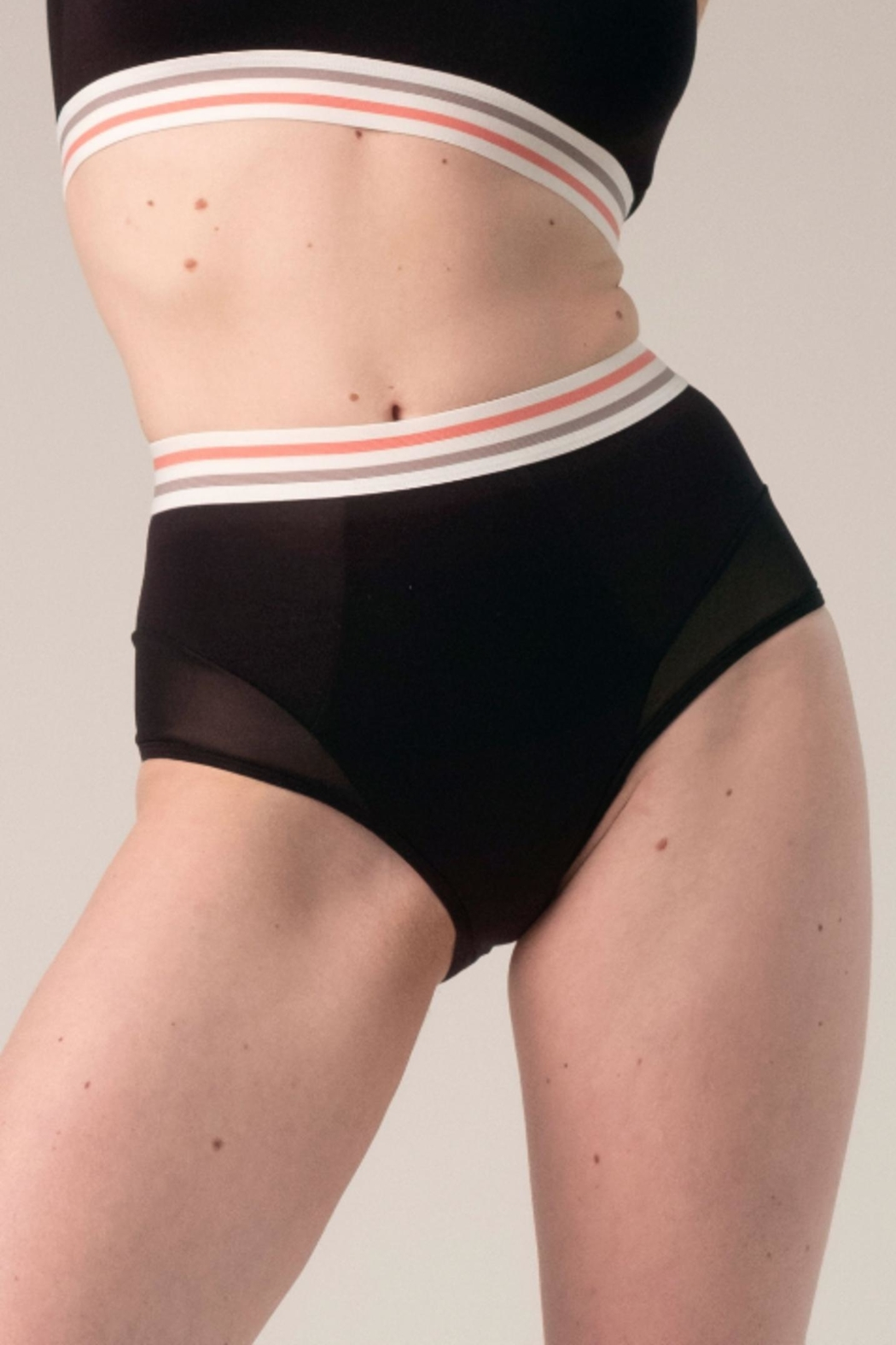blush lingerie Studio High-Waist Panty - Front Cropped Image