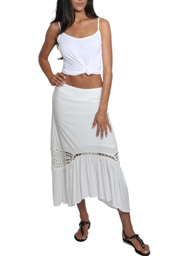 Blush Noir Doyle Midi Skirt - Product List Image