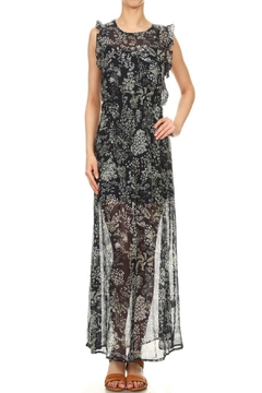 Blush Noir Sexy Print Maxi - Alternate List Image