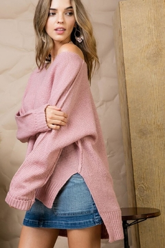 Main Strip Blushing Over-You Sweater - Alternate List Image