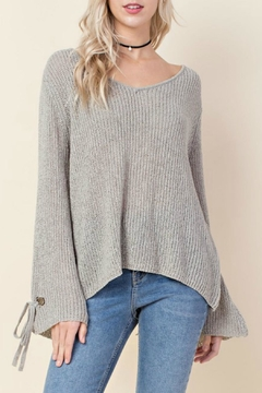 Shoptiques Product: Grey Knit Sweater