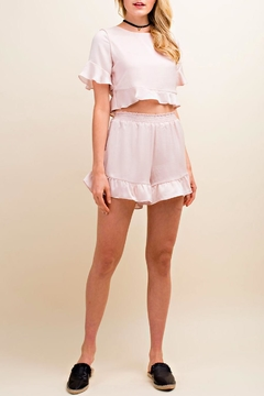 Shoptiques Product: Ruffle Hem Shorts