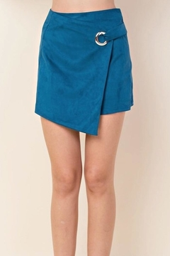 Blushing Heart Suede Skirt - Product List Image