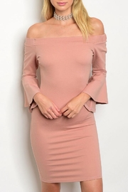Blvd Blush Bodycon Dress - Product Mini Image