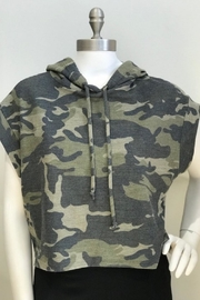 Blvd Camo Cropped Cut -Of Hoodie - Product Mini Image