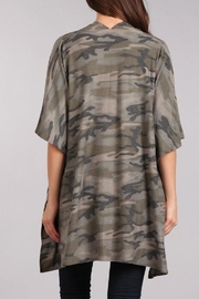 Blvd Camouflage Cardigan - Side cropped