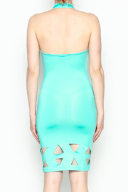 BLVD collection Cutout Halter Mini - Back cropped