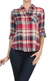 Blvd Plaid Button Down - Front cropped