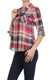 Blvd Plaid Button Down - Front full body
