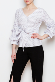 Blvd Puff Sleeve Top - Side cropped