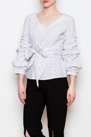 Blvd Puff Sleeve Top - Product Mini Image