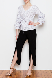 Blvd Puff Sleeve Top - Front full body