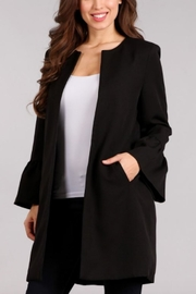 Blvd Ruffle Bell-Sleeve Blazer - Product Mini Image