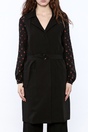 Blvd Sleeveless Trench Coat - Side cropped