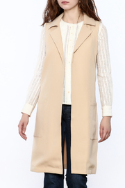 Blvd Sleeveless Trench Coat - Product Mini Image