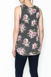 Bo Bel Floral Sleeveless Top - Back cropped