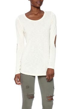 Bo Bel Suede Patch Top - Product List Image