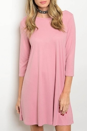 Bo Bel Blush Dress - Product Mini Image