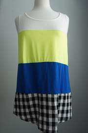 Bo Bel Color Block Tee - Front cropped