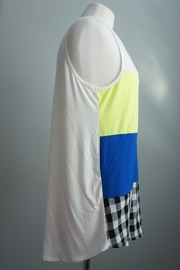 Bo Bel Color Block Tee - Front full body