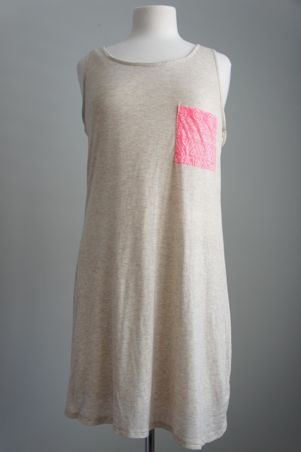 Bo Bel Racerback Jersey-Knit Dress - Side Cropped Image