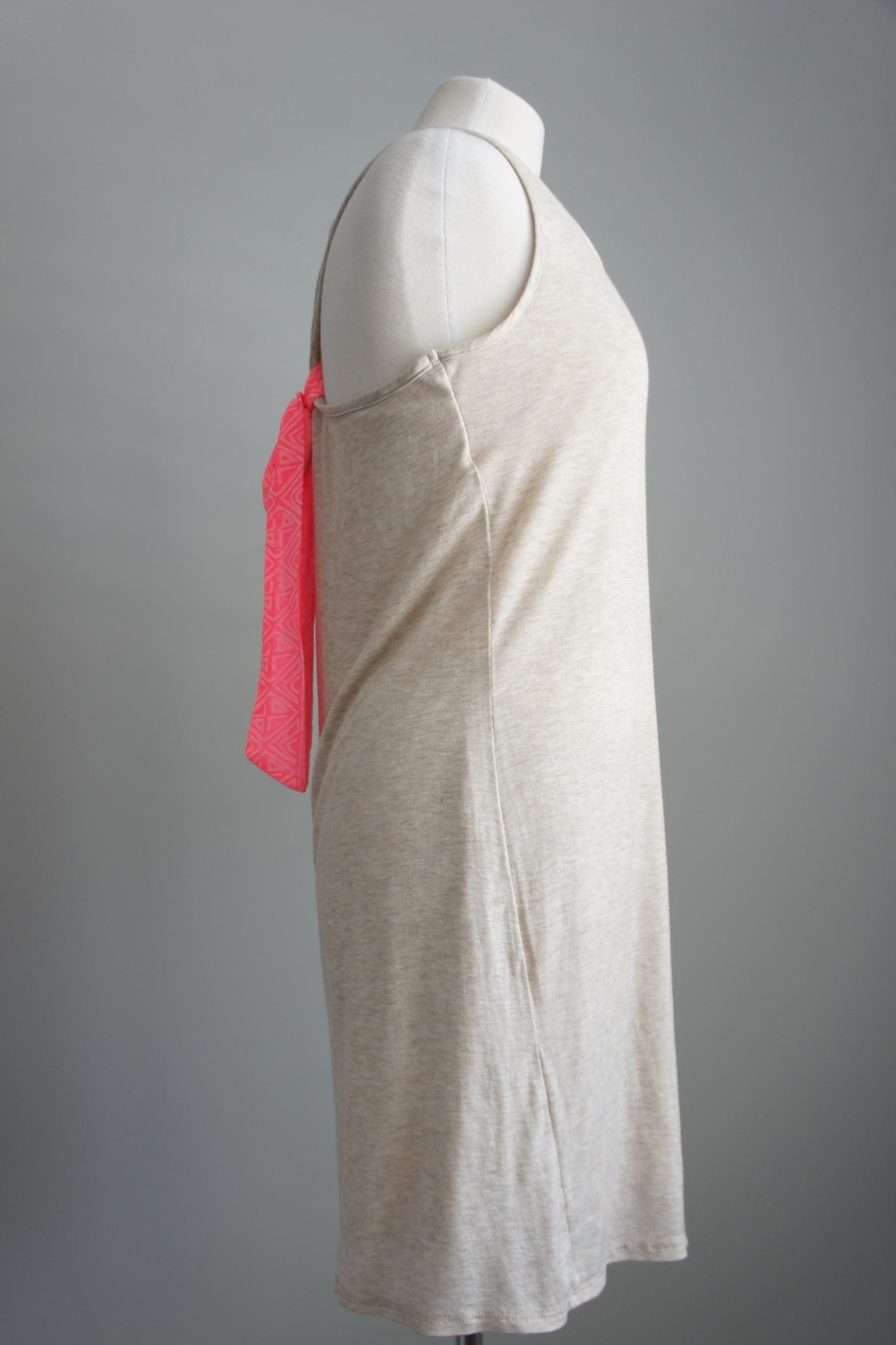 Bo Bel Racerback Jersey-Knit Dress - Back Cropped Image