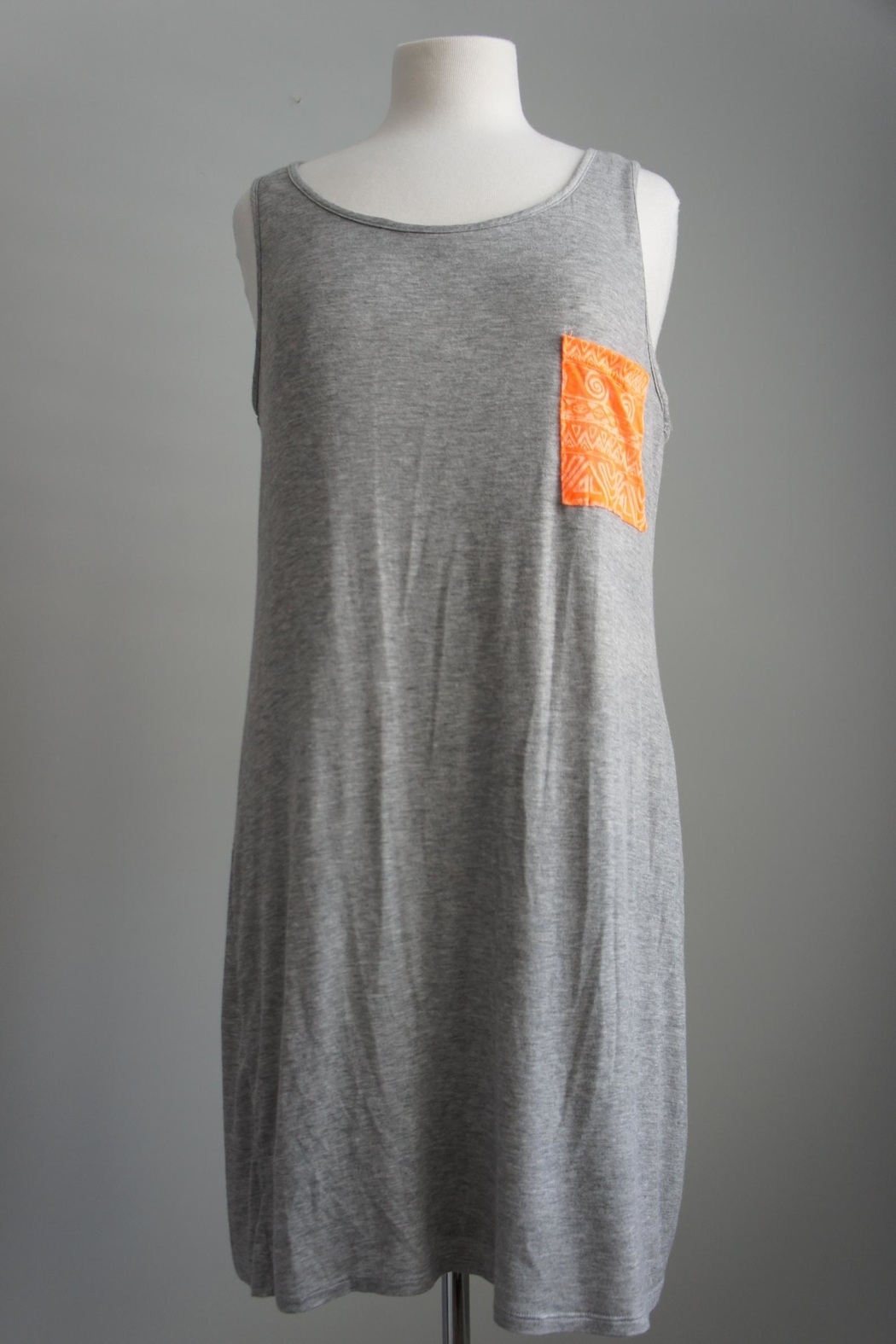 Bo Bel Racerback Jersey-Knit Dress - Front Cropped Image