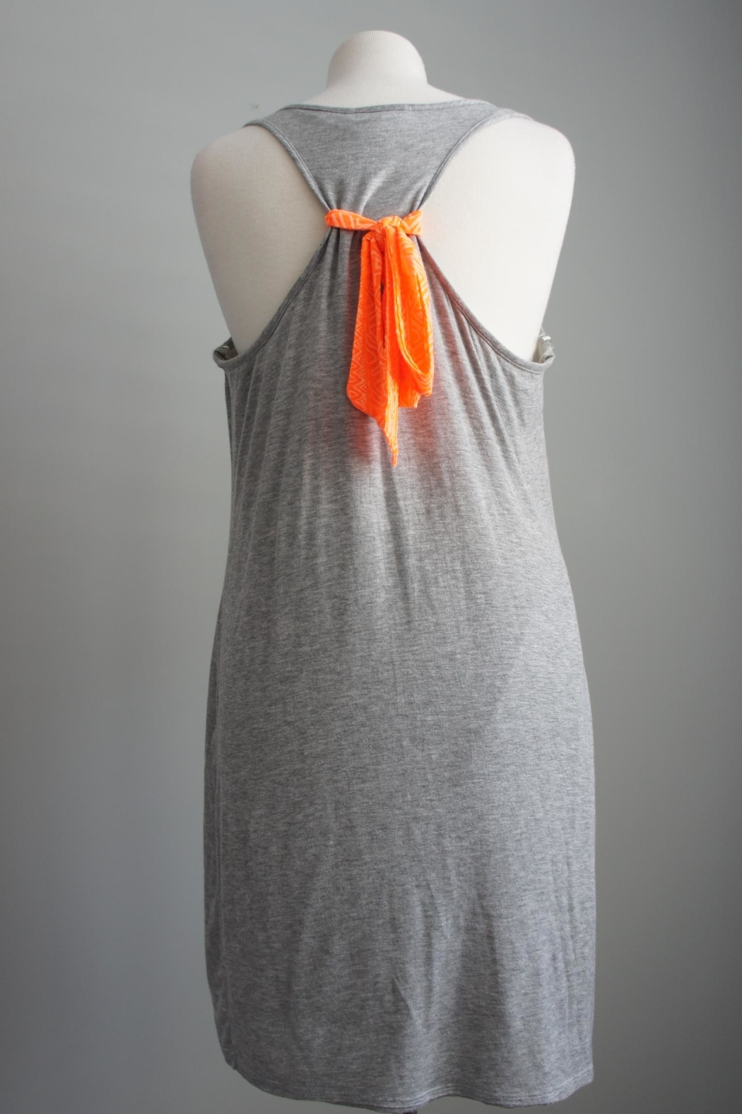Bo Bel Racerback Jersey-Knit Dress - Front Full Image