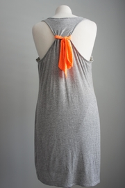 Bo Bel Racerback Jersey-Knit Dress - Front full body