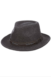 Dorfman Pacific  Boaquera Wool Felt Teardrop Hat - Product Mini Image