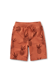 Tea Collection Boardies Surf Shorts - Tonal Pinas - Product Mini Image