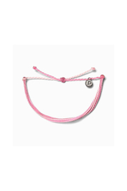 Pura Vida BOARDING FOR BREAST CANCER BRACELET - Product Mini Image