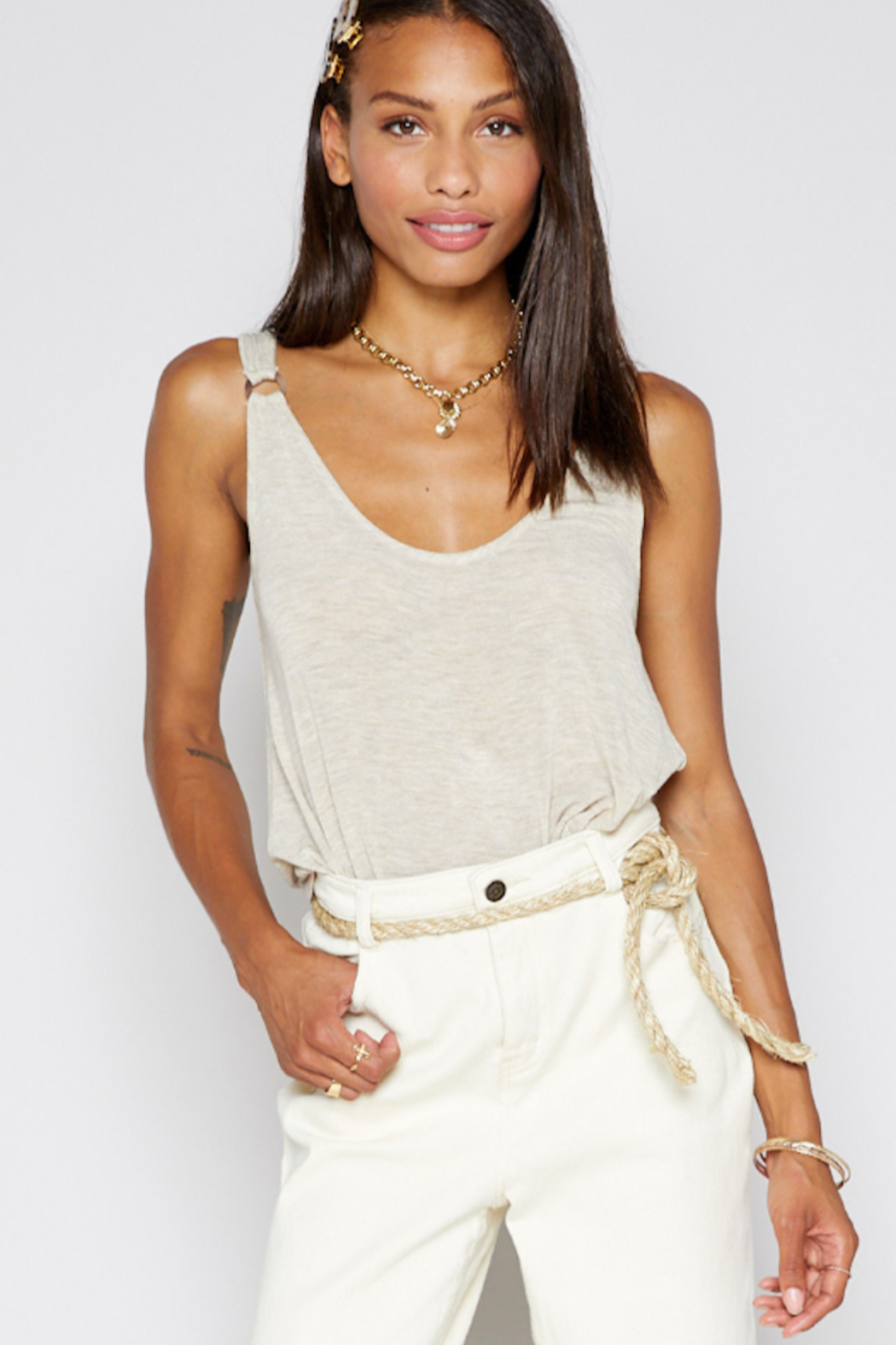 Sadie & Sage Boardwalk Knit Tank - Main Image