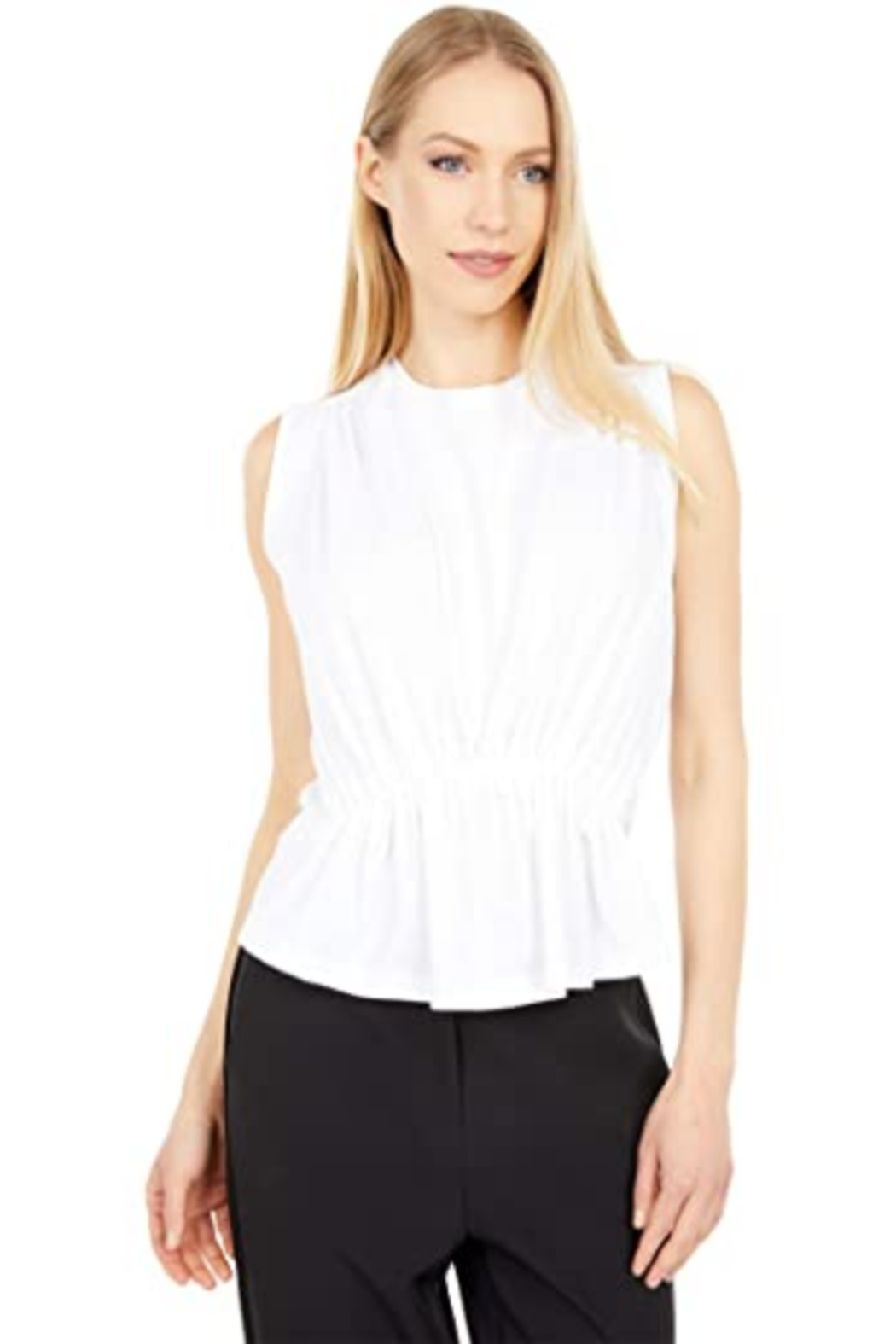 Bishop + Young Boardwalk Peplum Tee - Front Cropped Image