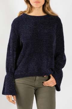 Shoptiques Product: Boat Neck Bell Sleeve Sweater