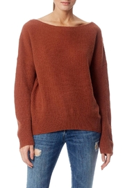 360 Cashmere Boat Neck Sweater - Product Mini Image
