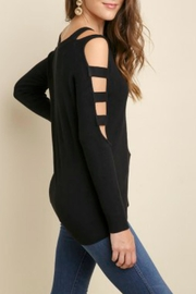 Umgee USA Boat Neck Sweater - Front full body