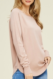 Starrs On Mercer Boat Neck Sweater - Front cropped