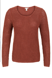 Tribal  Boat Neck Sweater - Product Mini Image