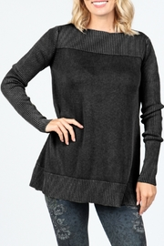 M. Rena Boat neck sweater top - Product Mini Image